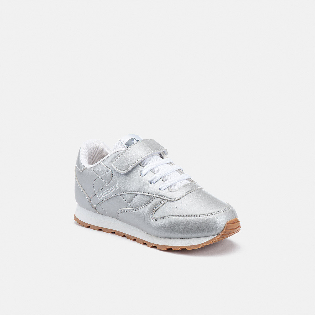 HELLO JR SILVER Girl Running shoes