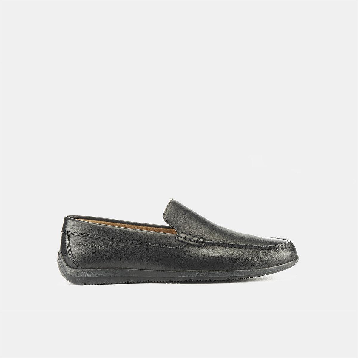 LEMAN BLACK Man Loafers