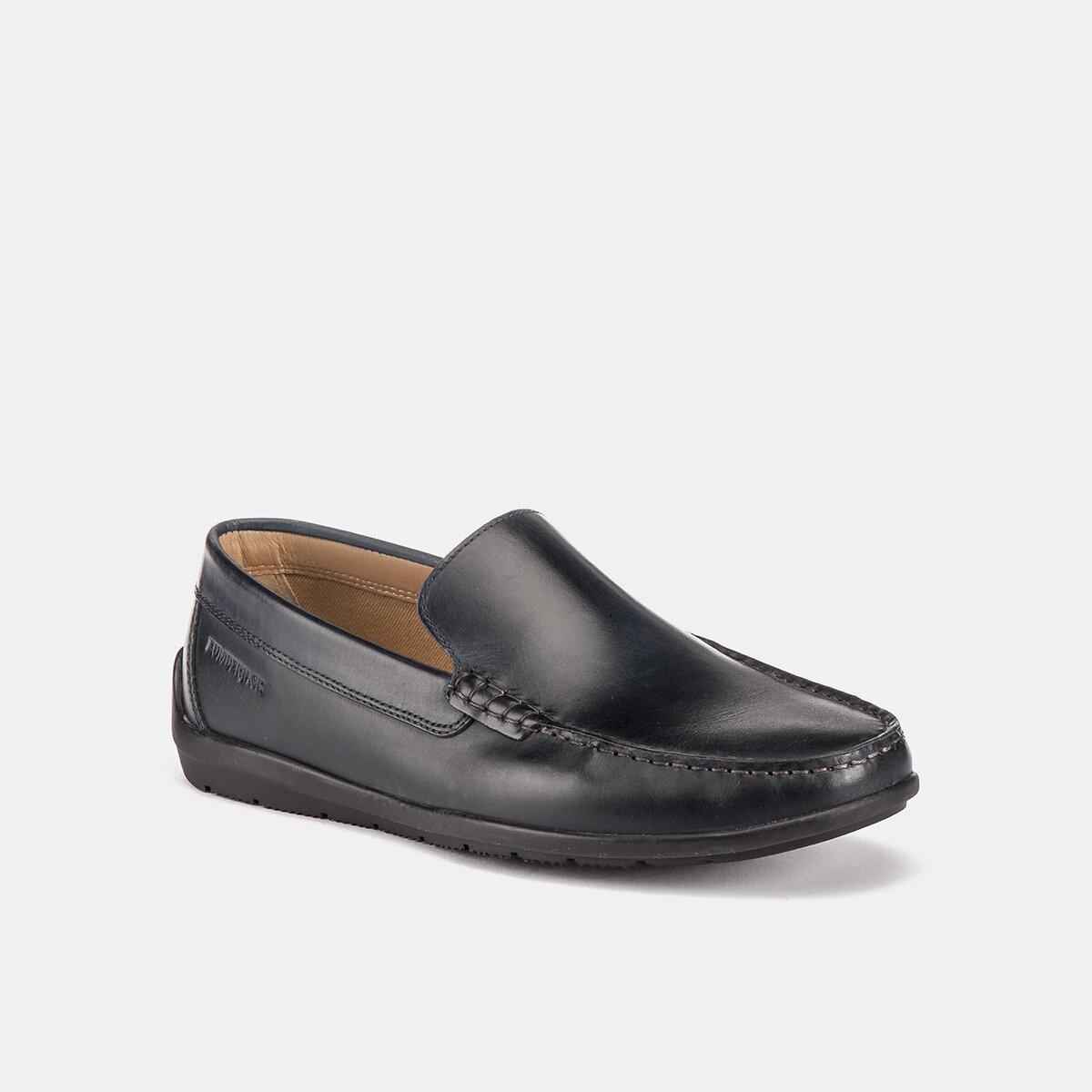 LEMAN NAVY BLUE Man Loafers