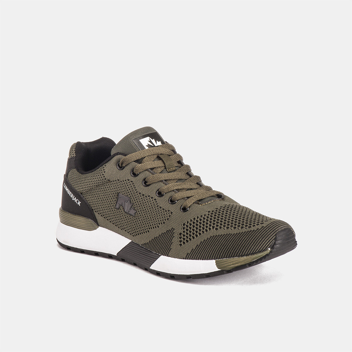 VENDOR MILITARY GREEN/BLACK Man Running shoes
