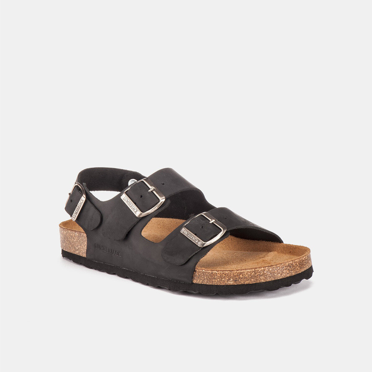 ISLA BLACK Man Sandals