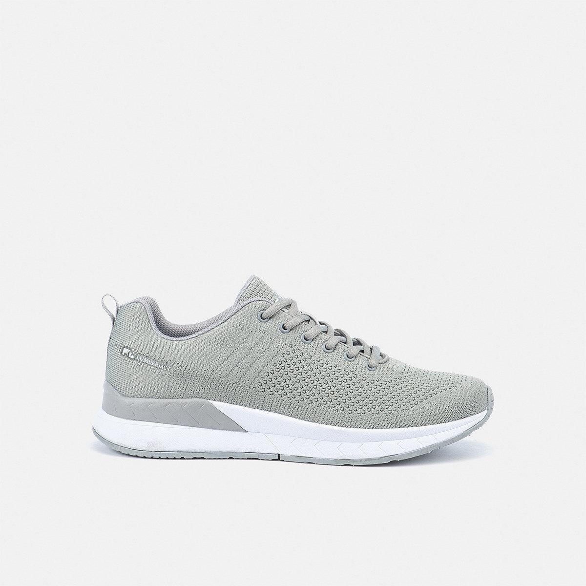 FABRIC LT GREY Man Running shoes