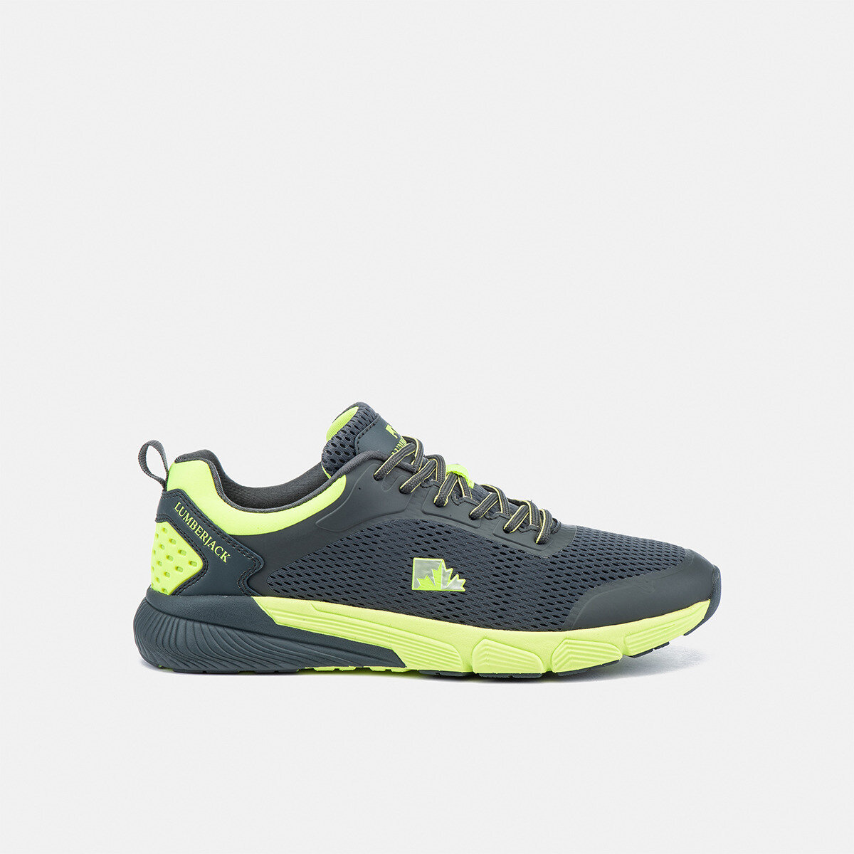 CHEN DK GREY/LIME Man Running shoes