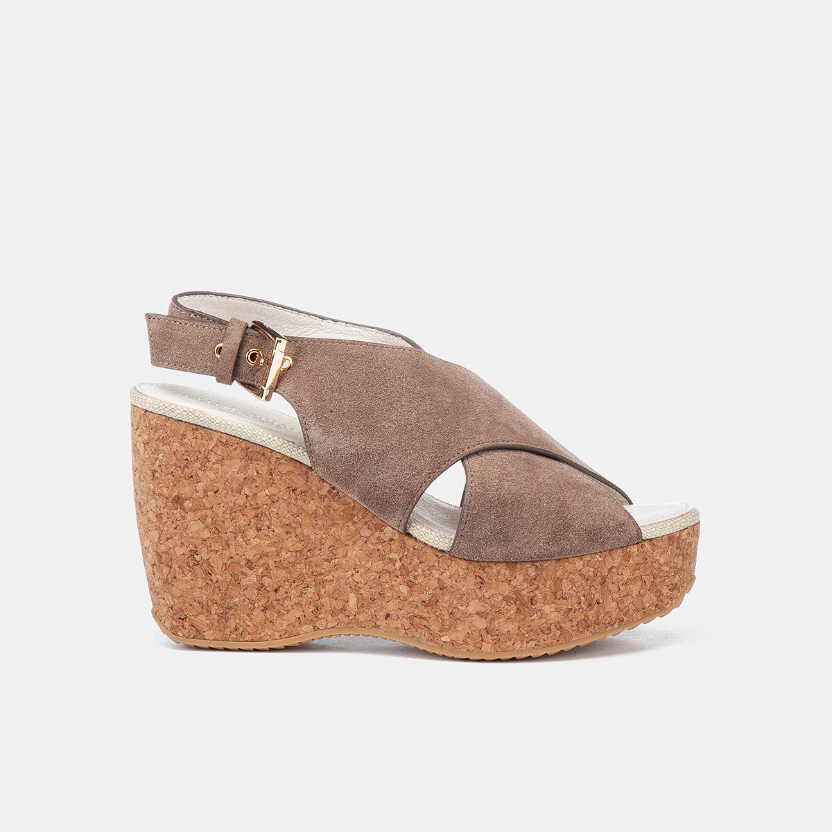 TALIAH Taupe Woman Sandals