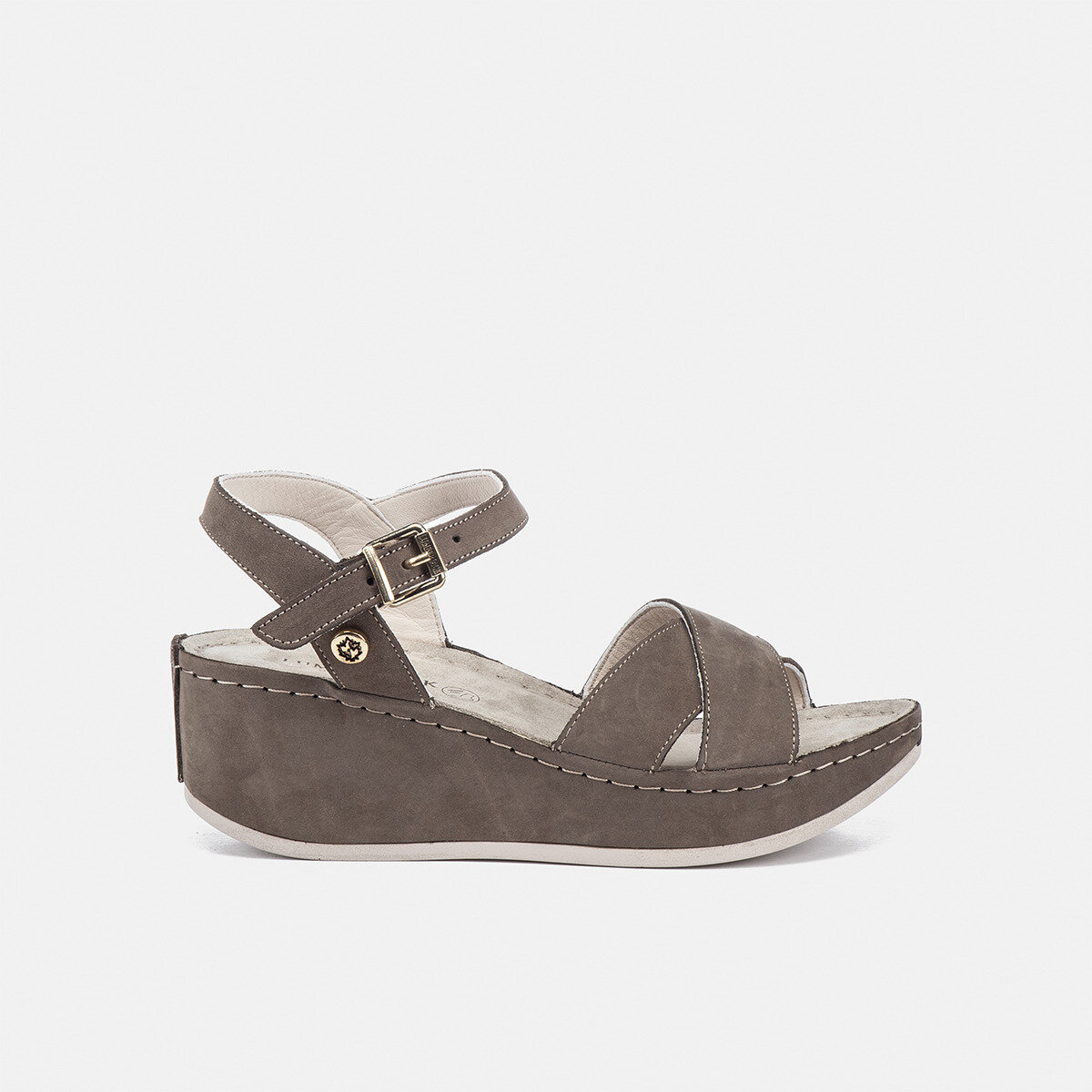 KIMMY Taupe Woman Sandals