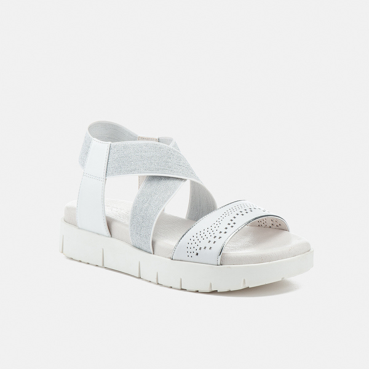 EVETTE WHITE Woman Sandals