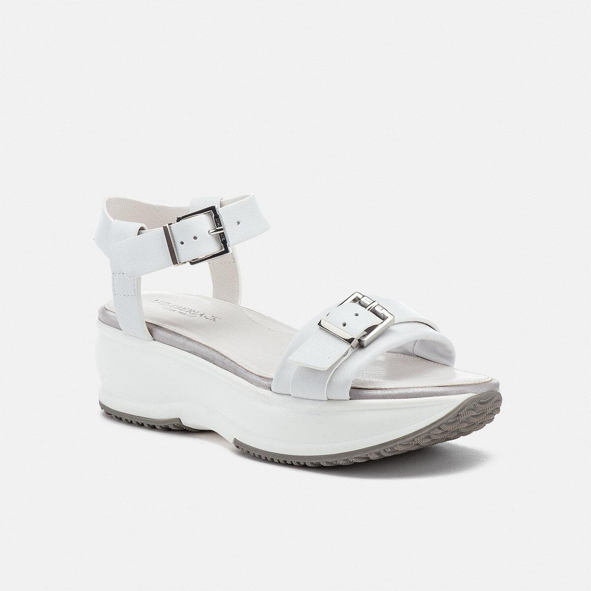 SONYA WHITE Woman Sandals