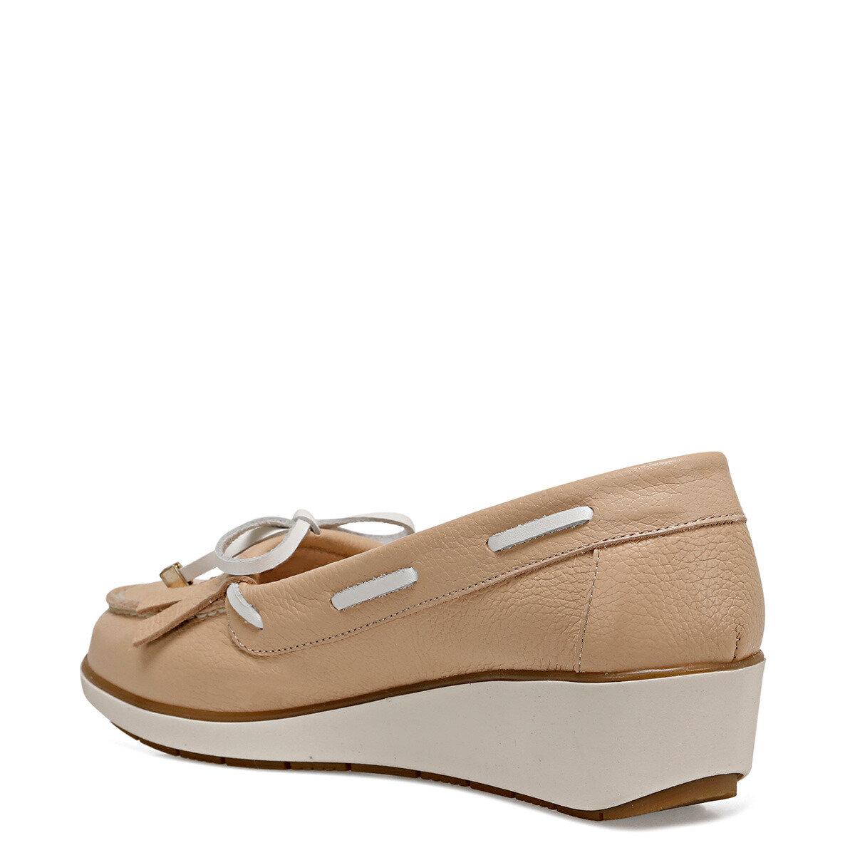 AGHA Pudra Kadın Dolgu Topuk Ayakkabı
