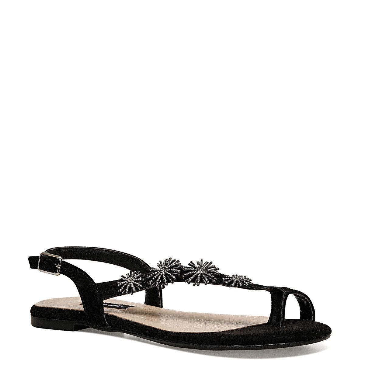 AILEEN2 Siyah Kadın Parmak Arası Sandalet