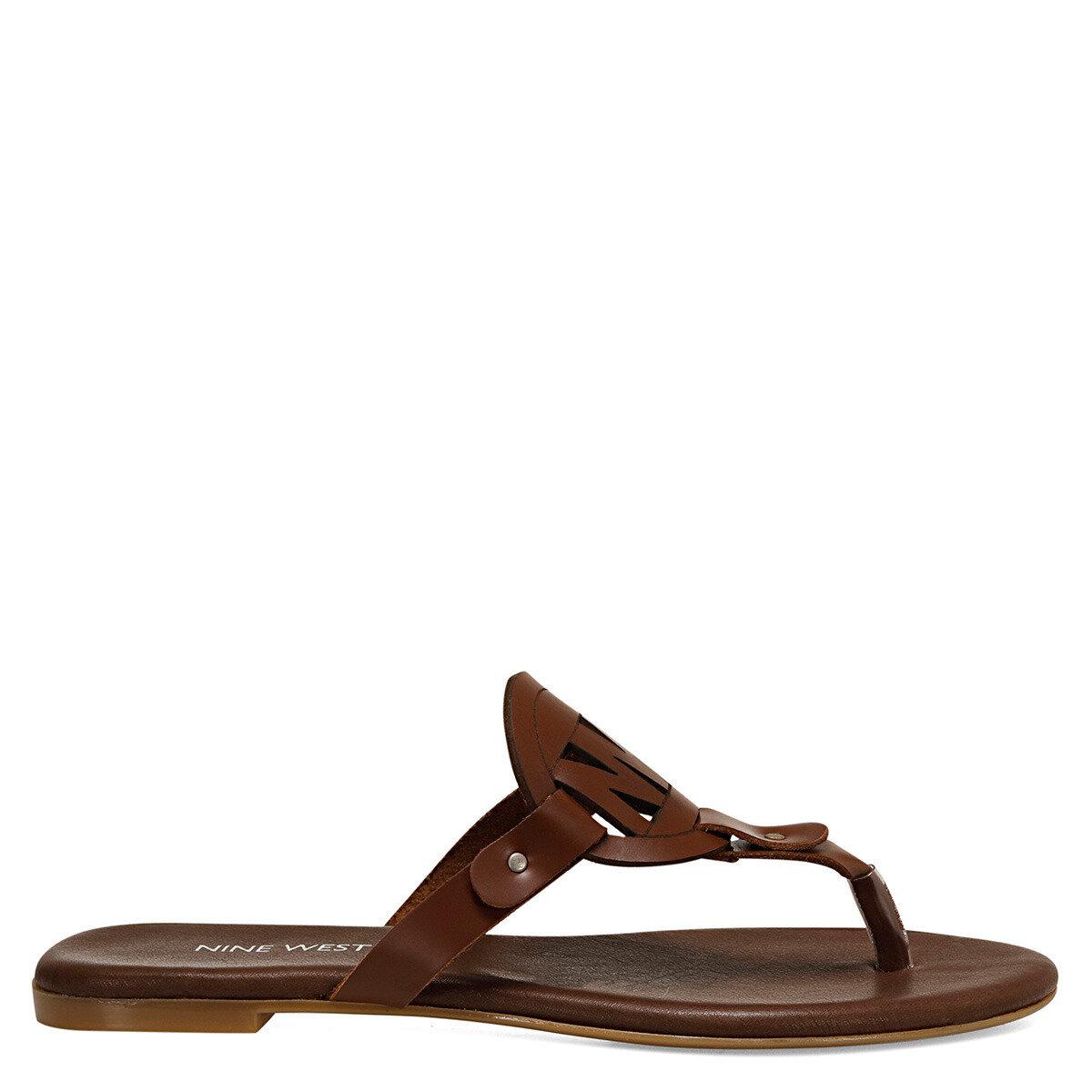 ARRIA Kahverengi Kadın Parmak Arası Sandalet