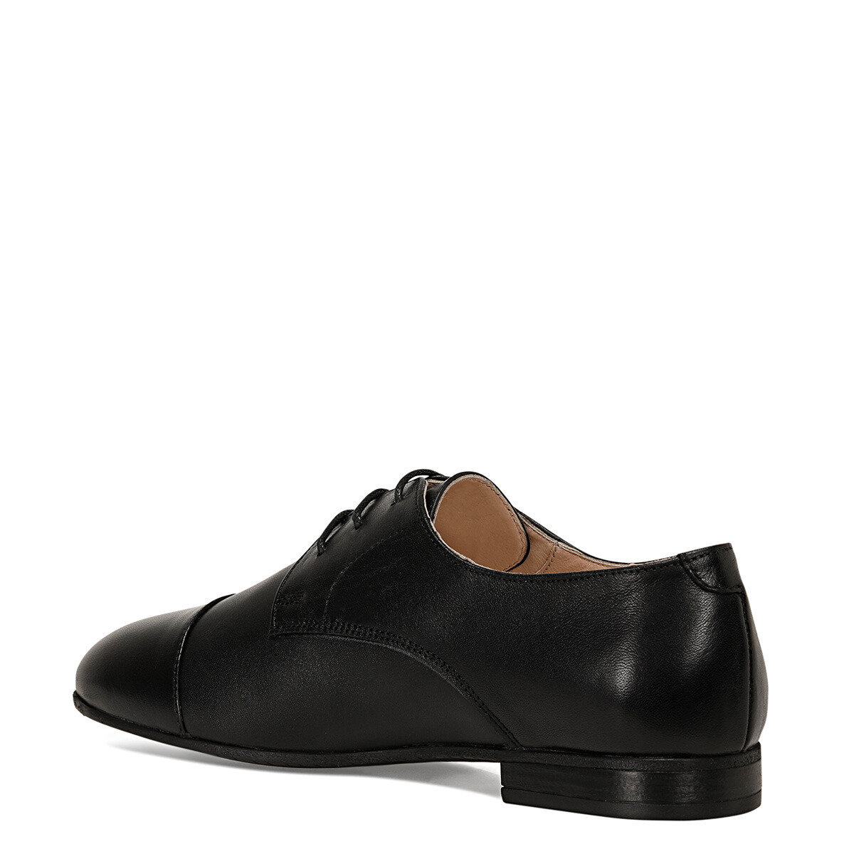 YERDA Siyah Kadın Oxford Ayakkabı
