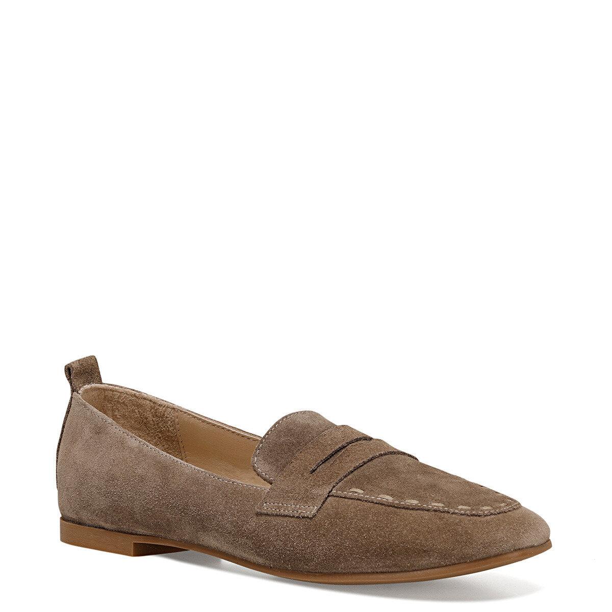 BAILEEN2 Vizon Kadın Loafer Ayakkabı