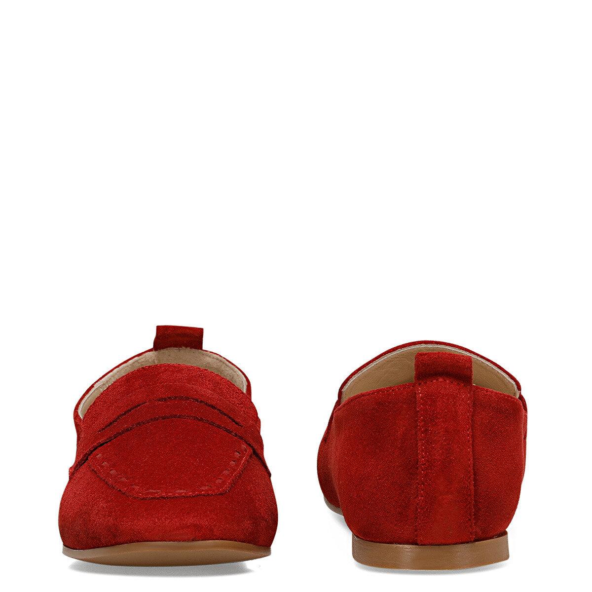 BAILEEN2 Kırmızı Kadın Loafer Ayakkabı