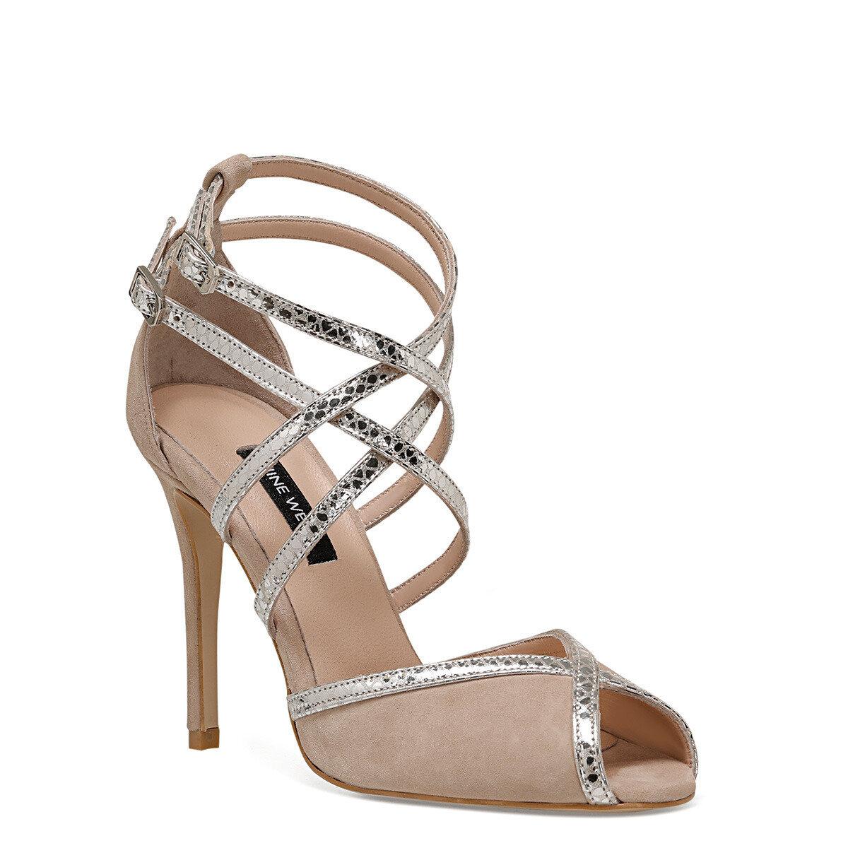 TROBA Vizon Kadın Topuklu Sandalet