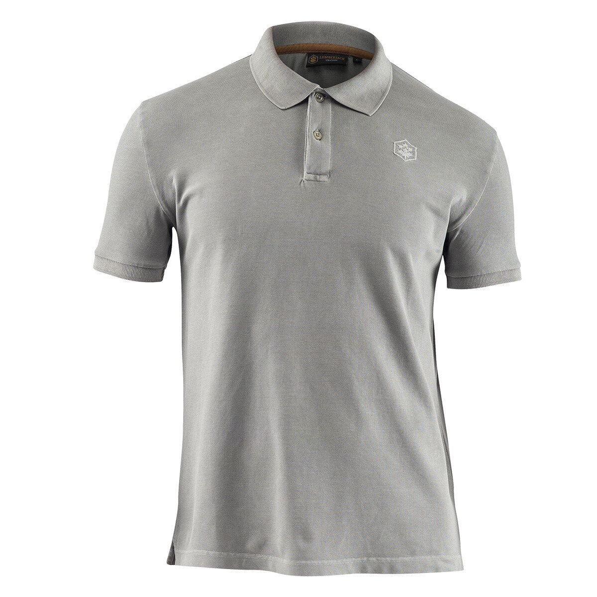 POLO LT GREY Man T-Shirts