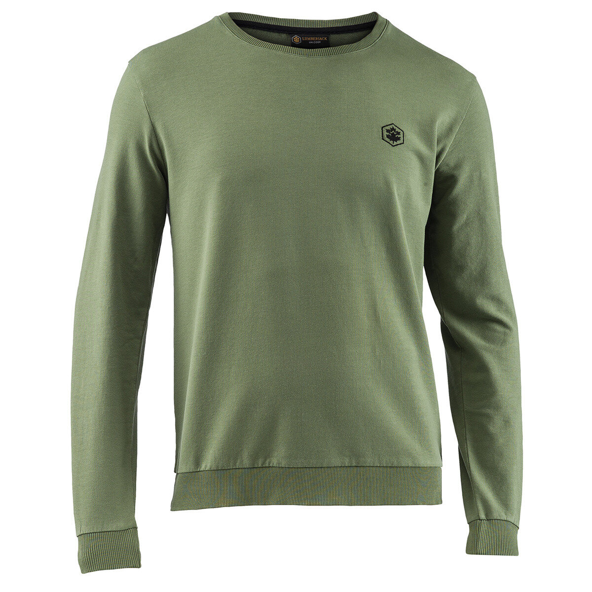 SWEATSHIRT OLIVE NIGHT GREEN Man Sweatshirts