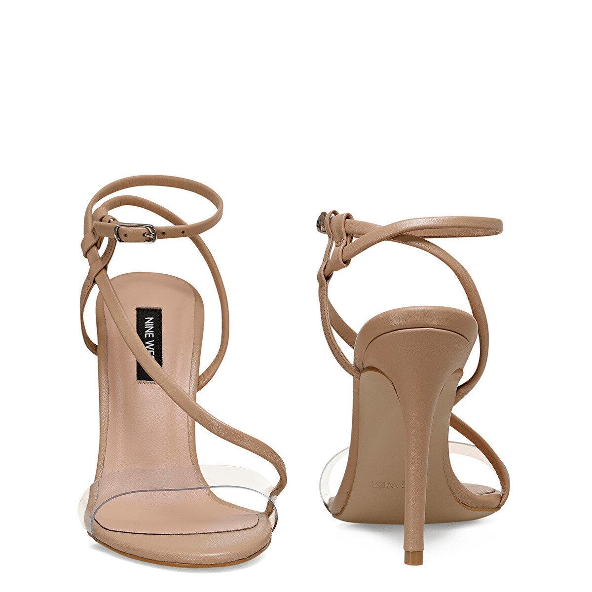 TIMMY NUDE Kadın Topuklu Sandalet