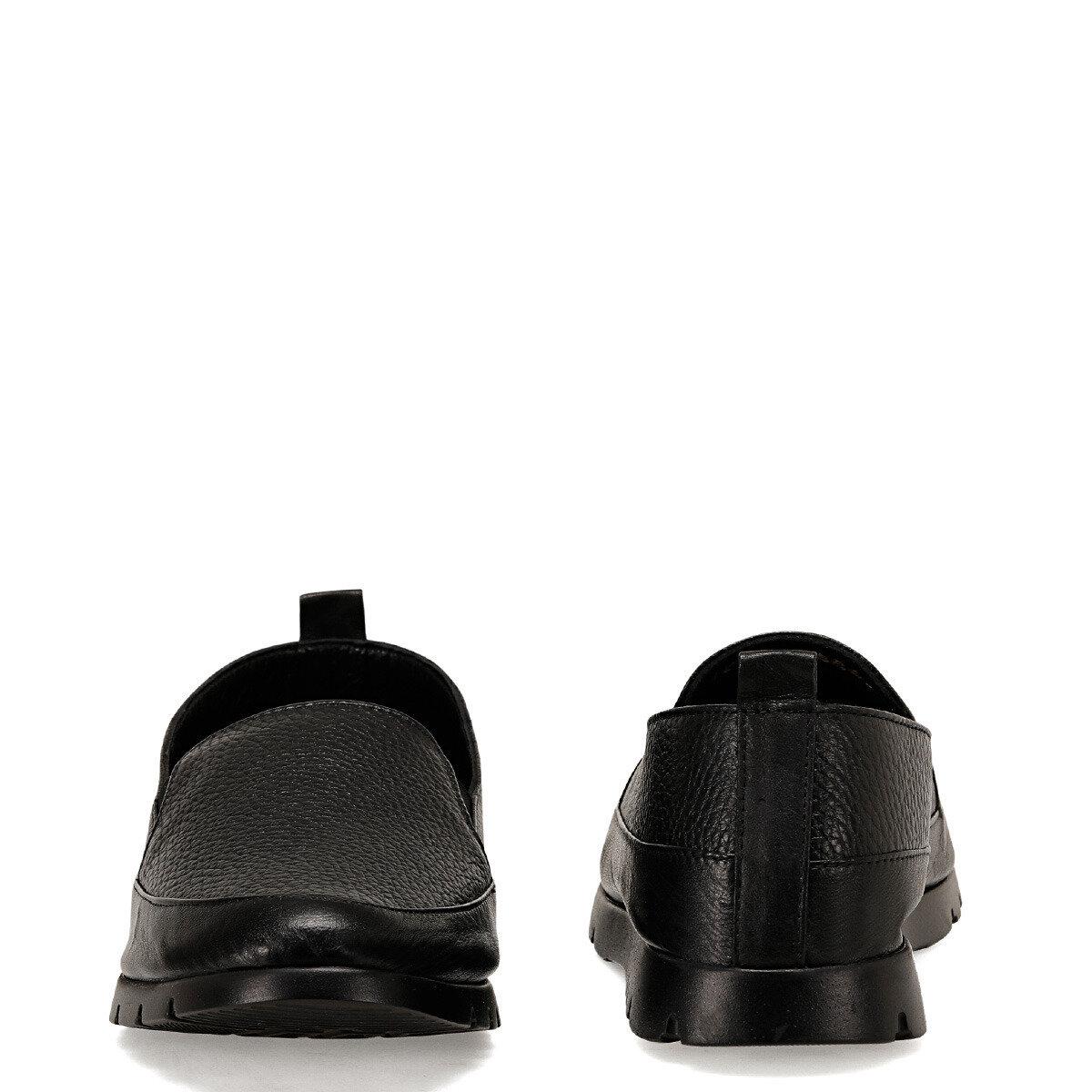BASI2 Siyah Kadın Loafer