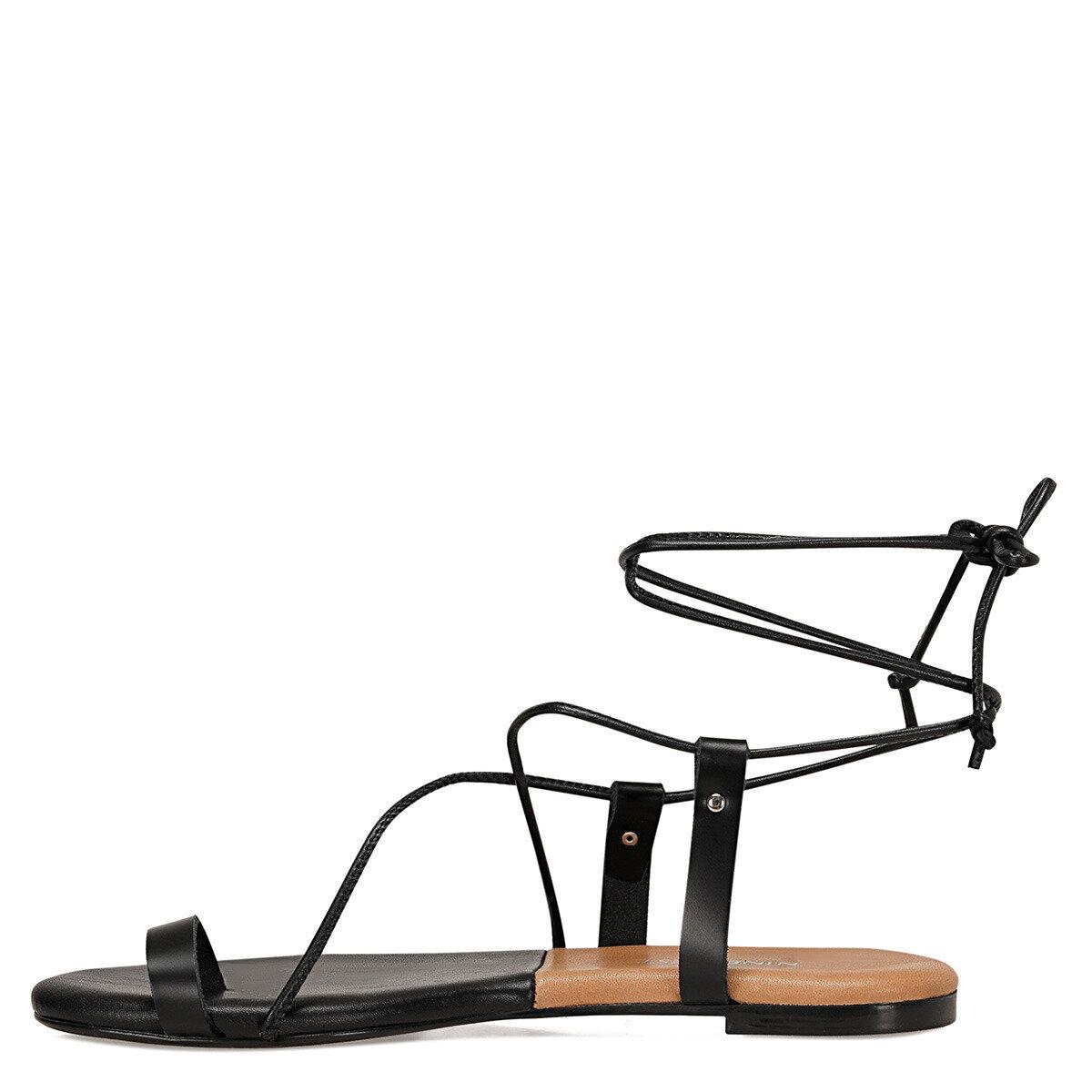 ALEX Siyah Kadın Parmak Arası Sandalet