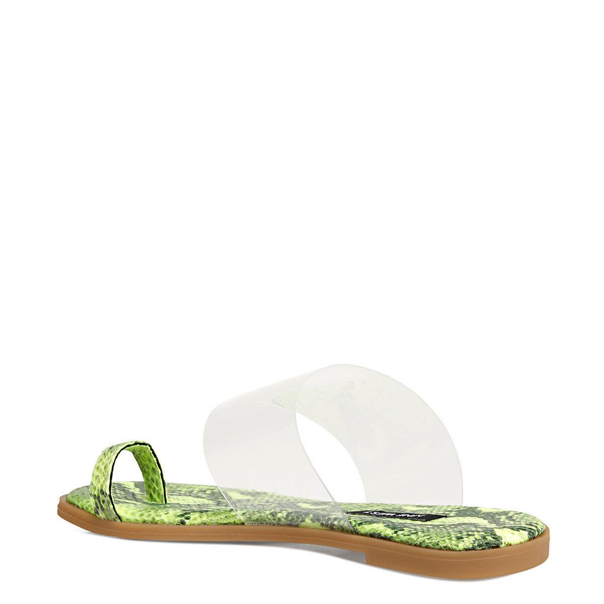 ARDEN Sarı Kadın Parmak Arası Sandalet