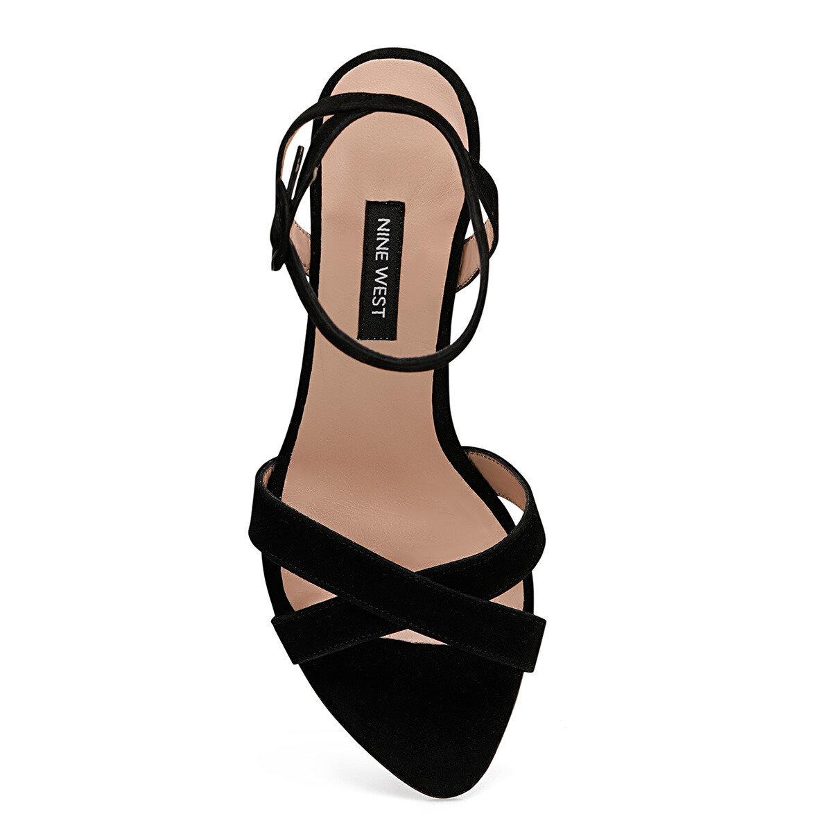 TOMI Siyah Kadın Topuklu Sandalet