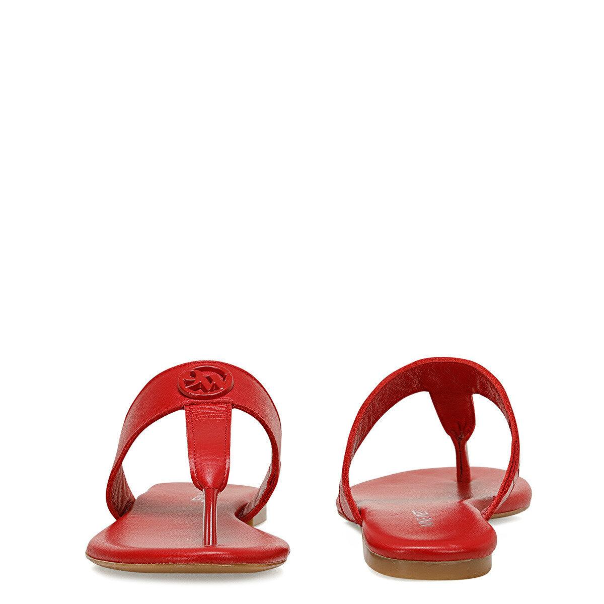 AVA Kırmızı Kadın Parmak Arası Terlik