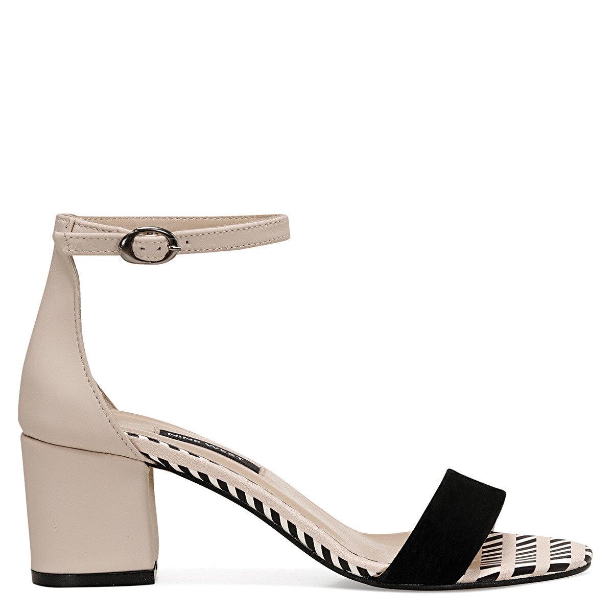BADALIA8 Siyah Kadın Sandalet