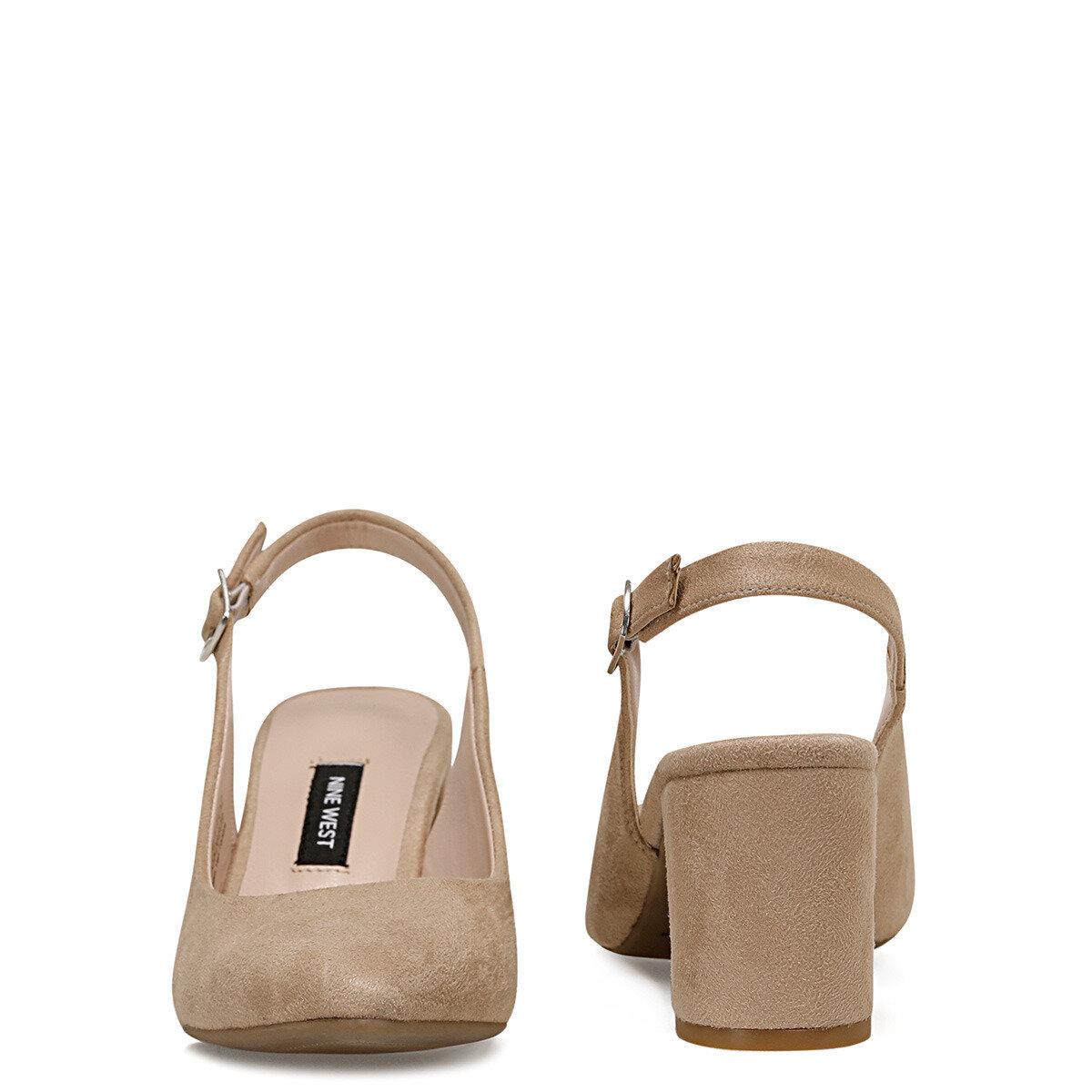 LIZETTO2 Vizon Kadın Topuklu Ayakkabı