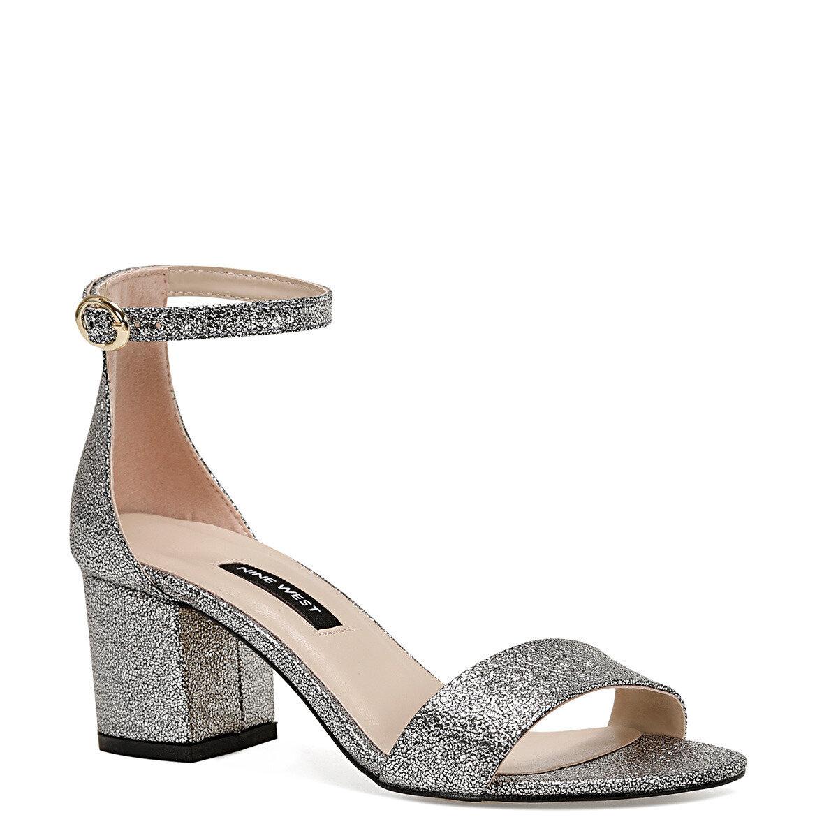 nine west BADALIA2 Gümüş Kadın Sandalet