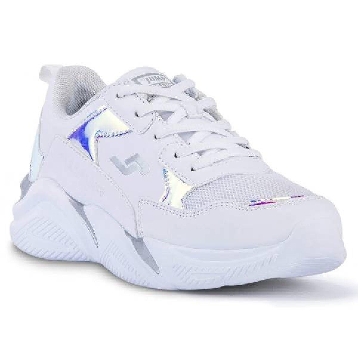 Jump 24800 Yuksek Taban Kadin Spor Ayakkabi Beyaz 200014235 Flo