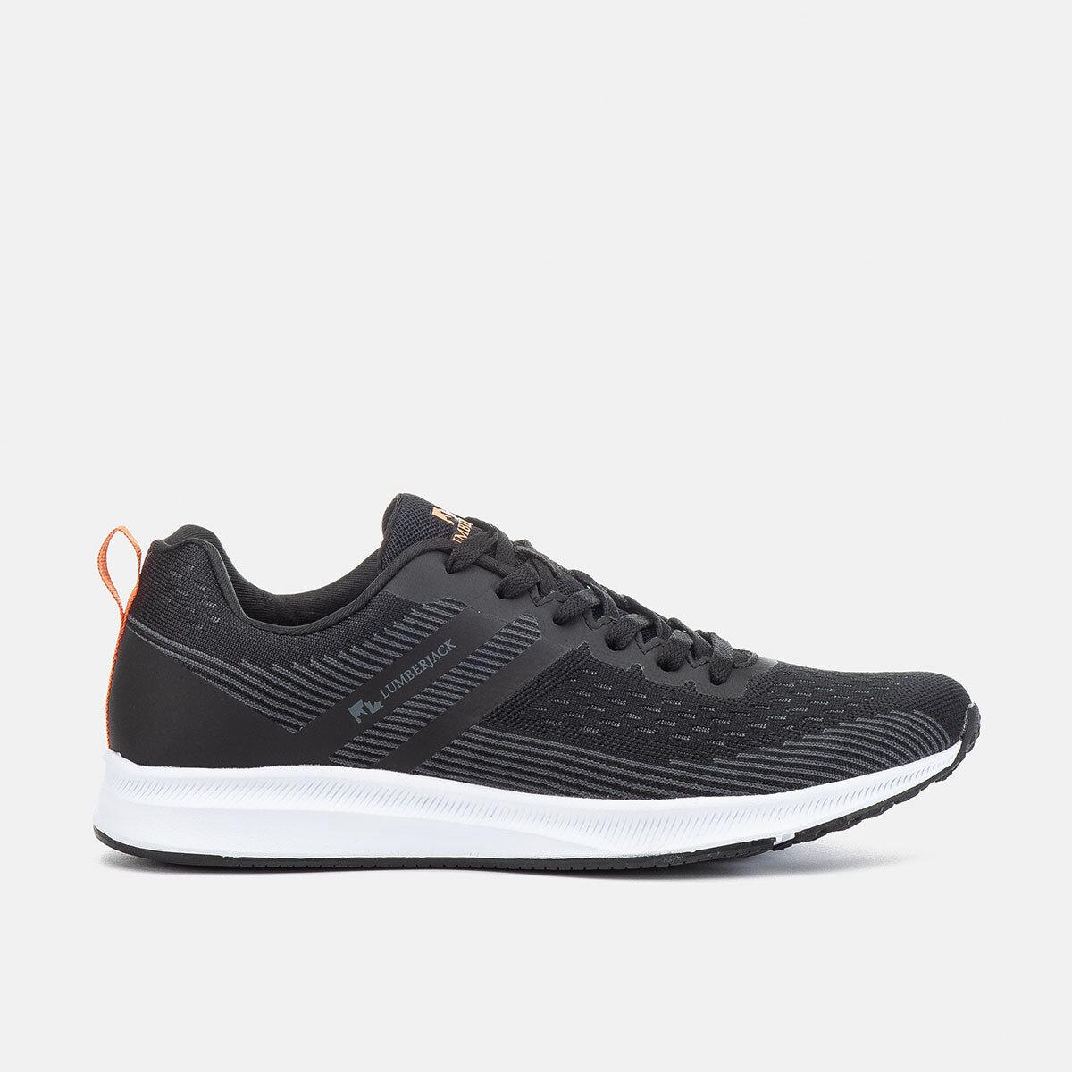 STRONG BLACK/ORANGE Man Running shoes