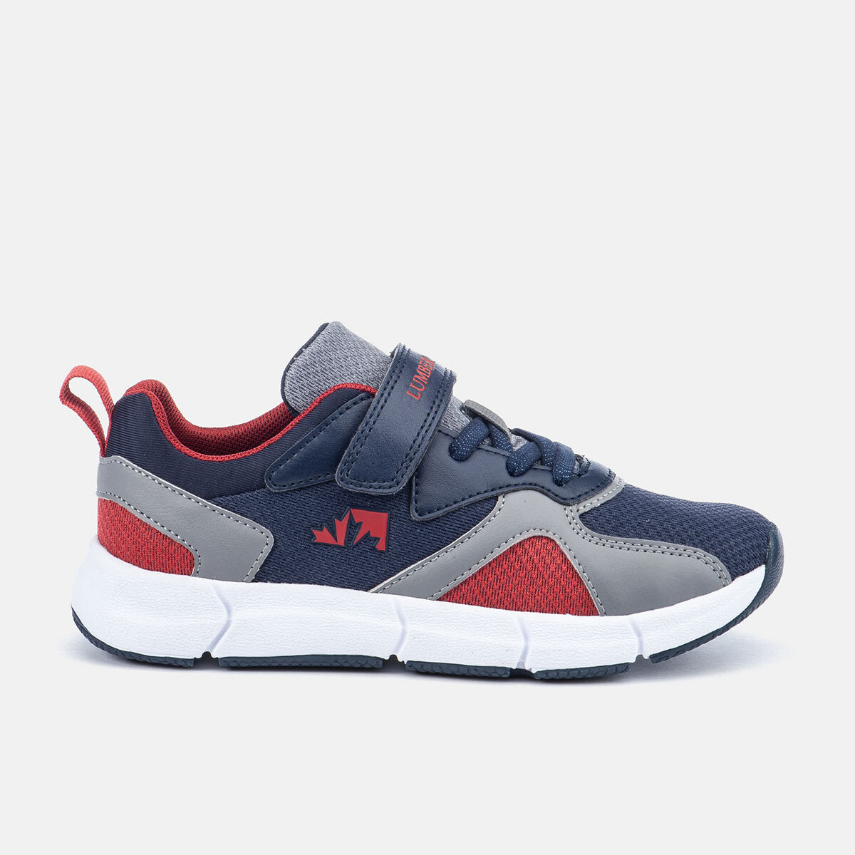 BEAVER NAVY BLUE/GREY/RED Boy Running shoes