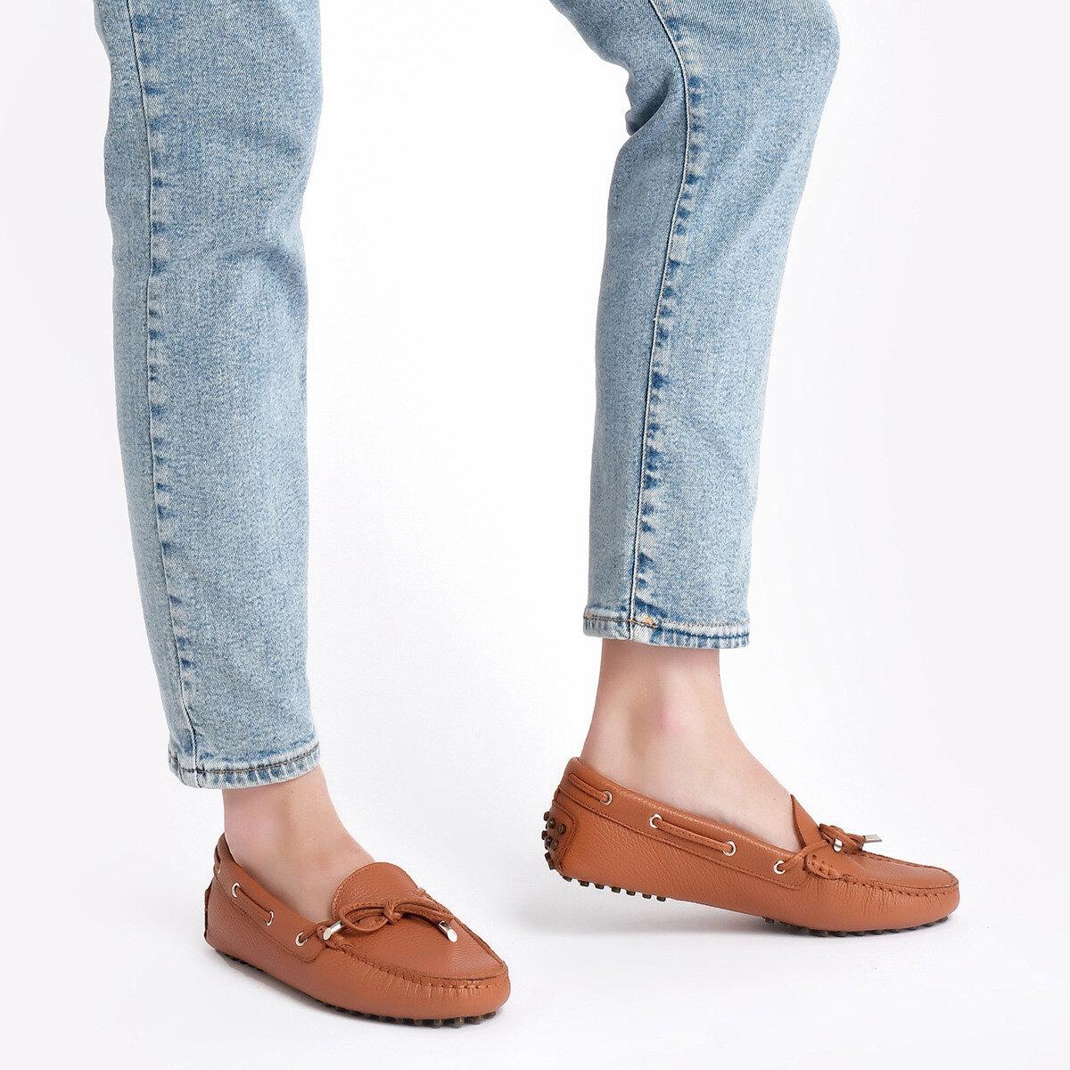 HOLT Taba Kadın Loafer Ayakkabı