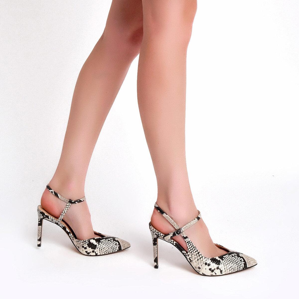 ELISA3 Bej Kadın Gova Ayakkabı