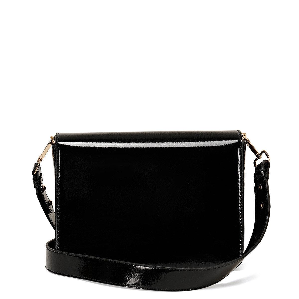 FLOCK Siyah Kadın Çapraz Çanta