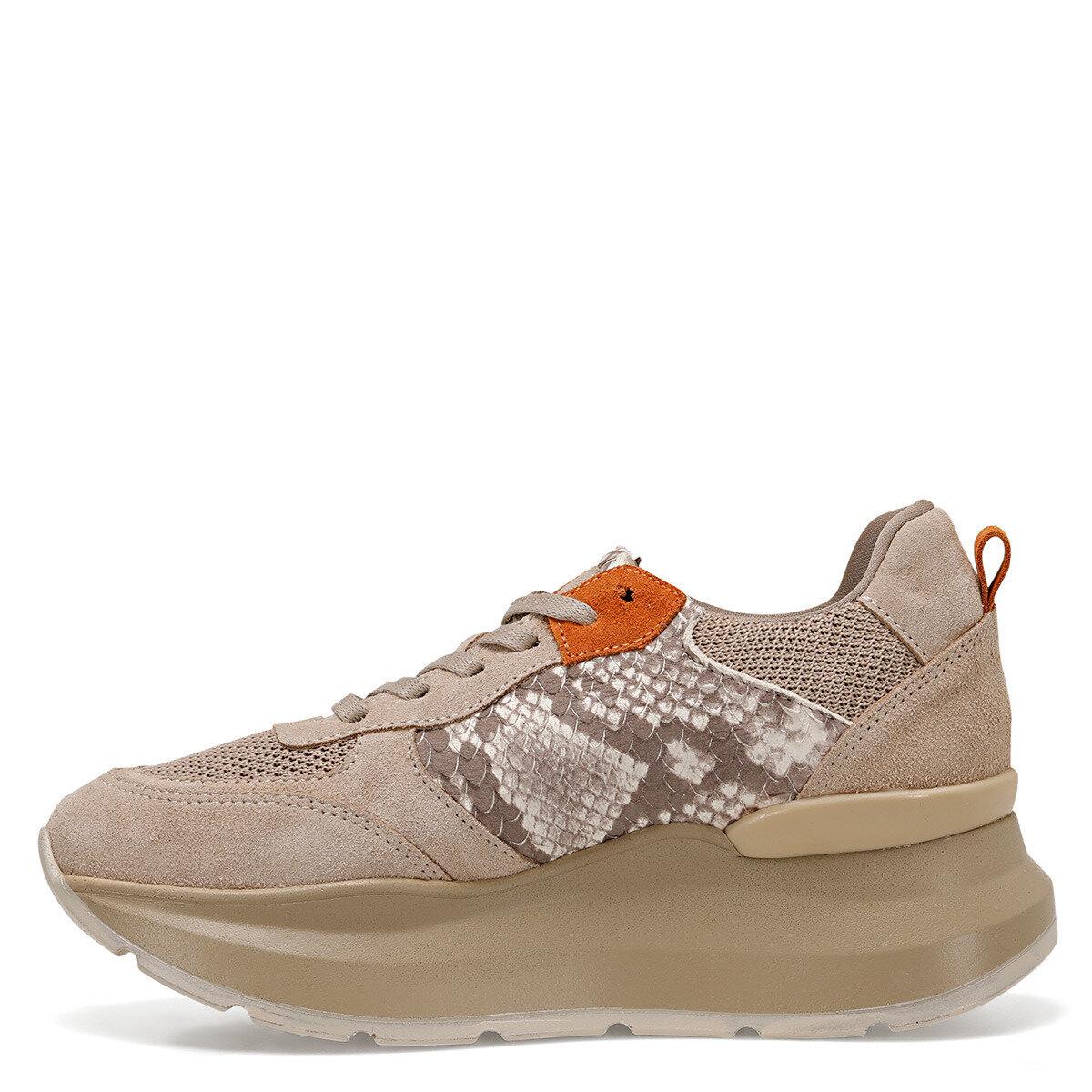 AMIA Bej Kadın Sneaker