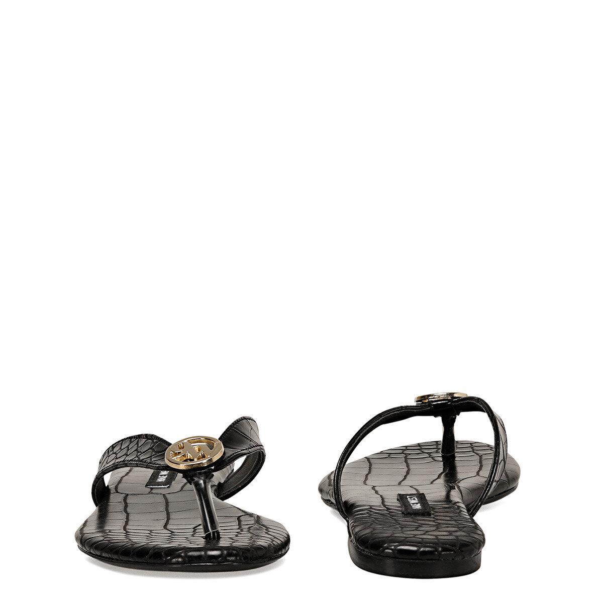 AVANA Siyah Kadın Parmak Arası Sandalet