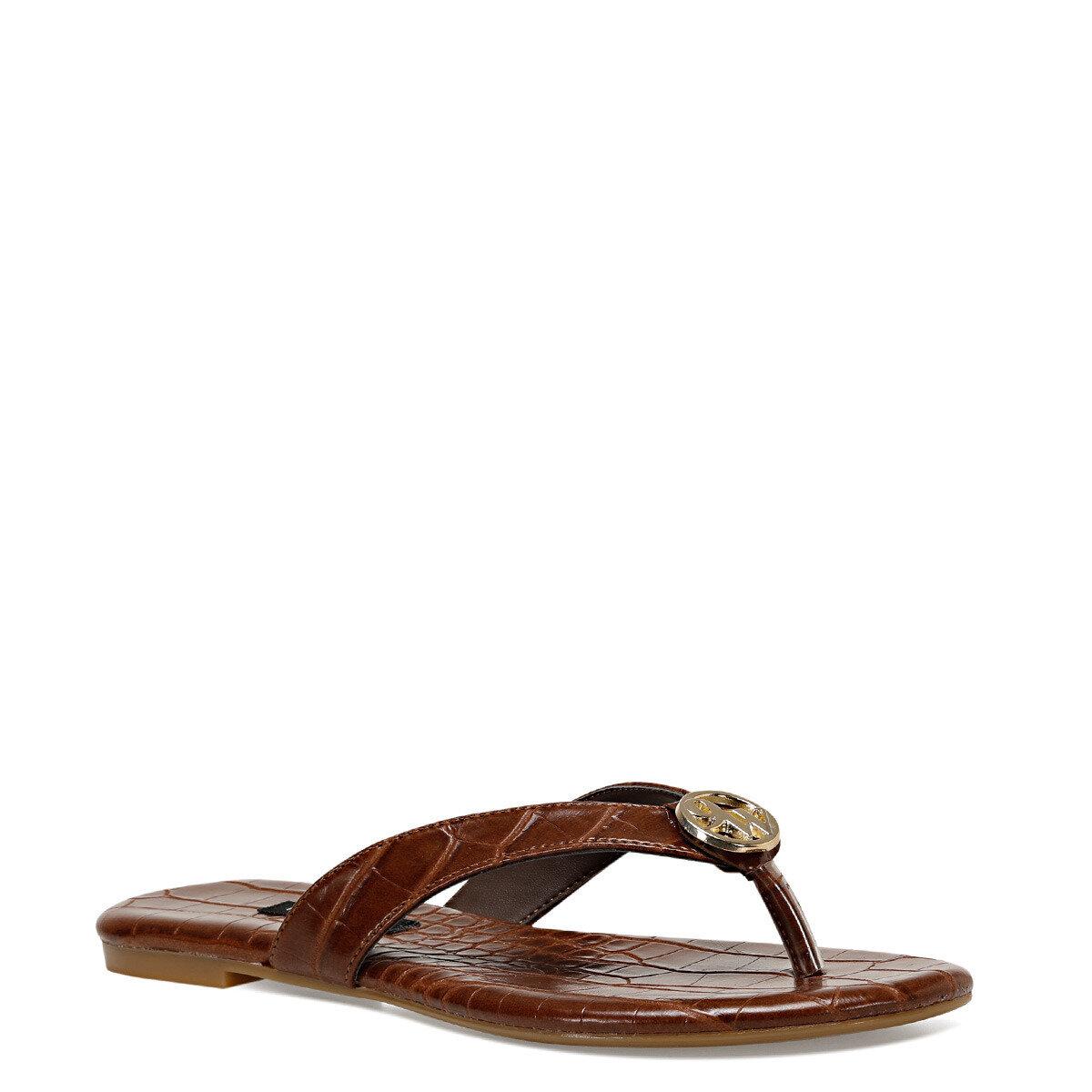 AVANA Kahverengi Kadın Parmak Arası Sandalet