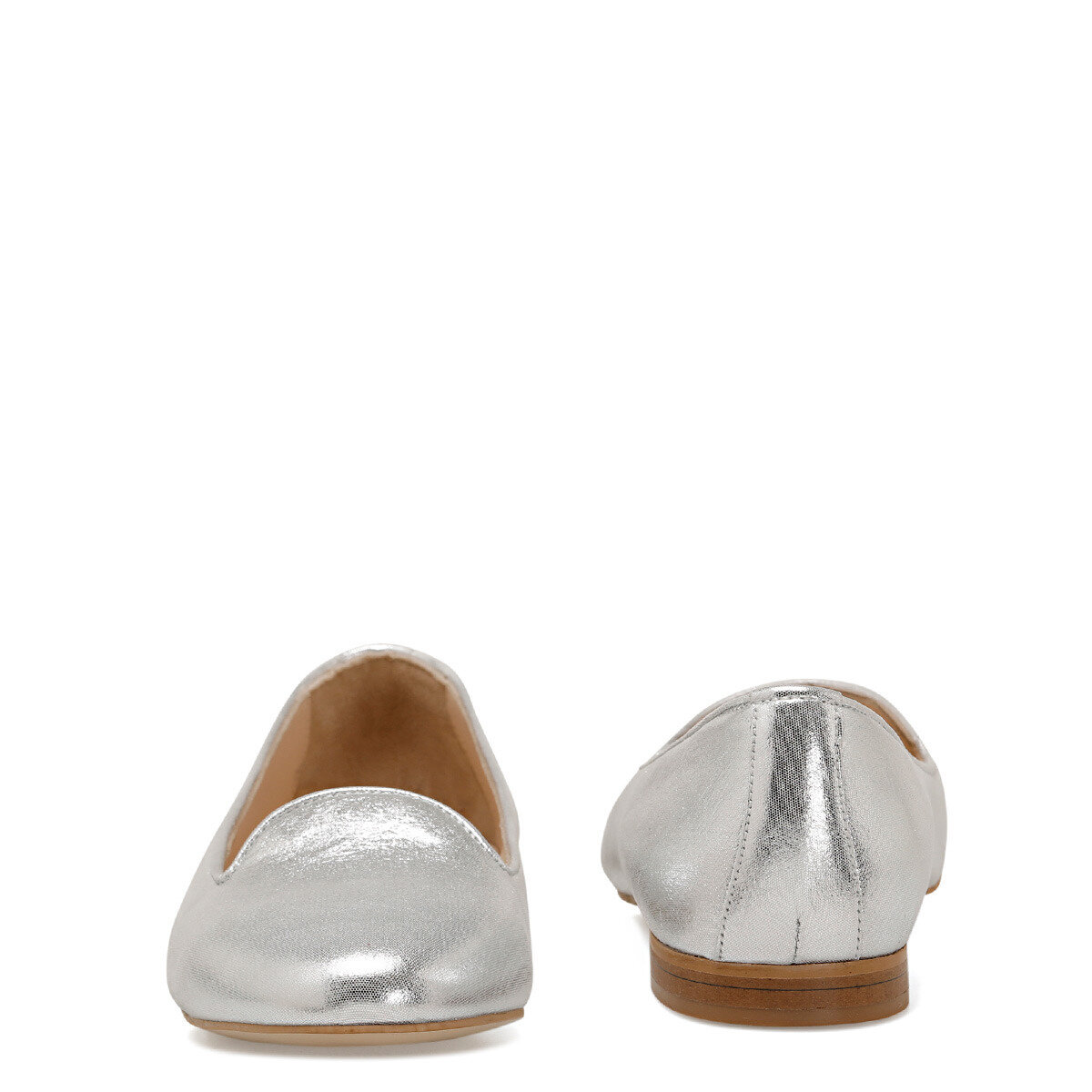 YODA Gümüş Kadın Loafer