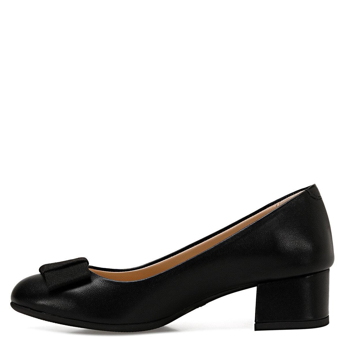 LENI Siyah Kadın Topuklu Ayakkabı