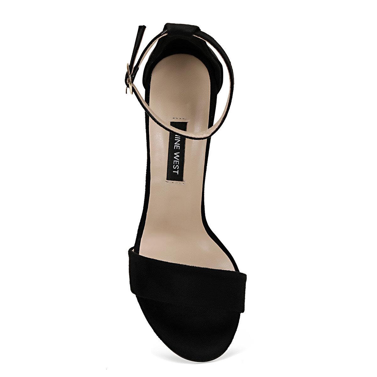 CALVI2 Siyah Kadın Sandalet