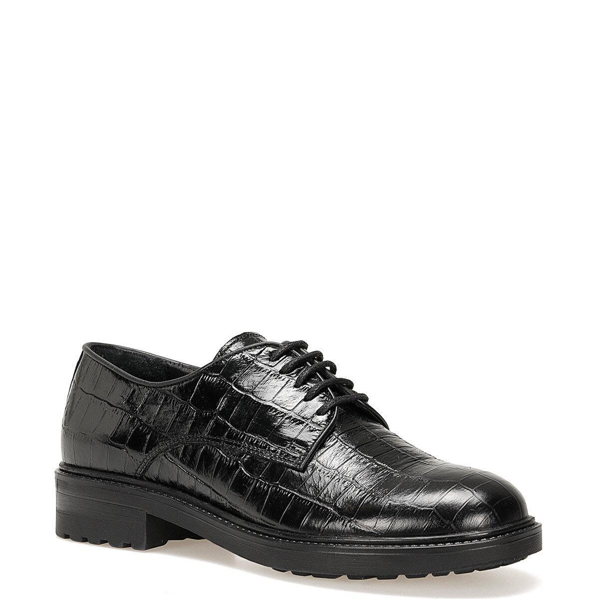 OSILA Siyah Kadın Maskulen Ayakkabı