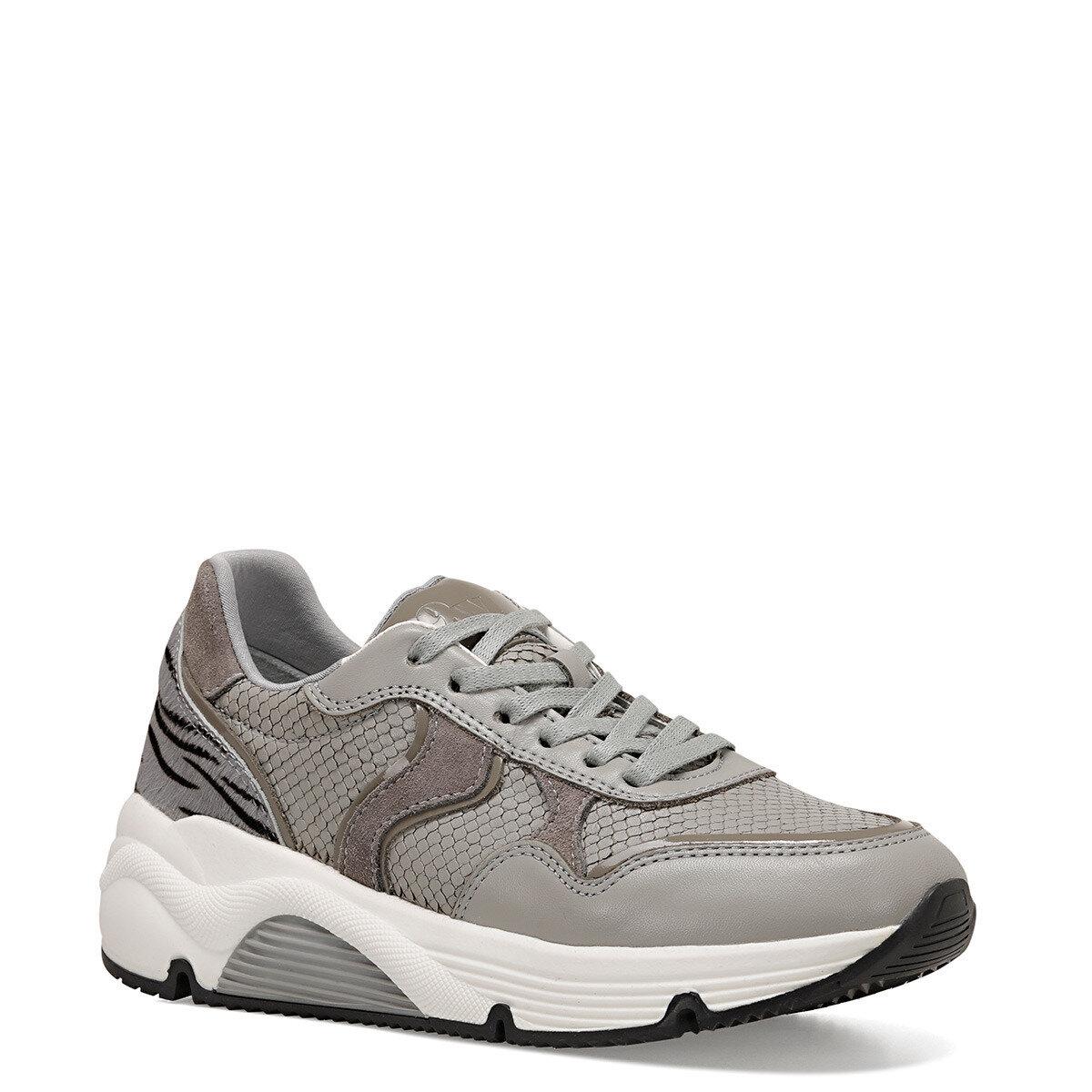 BELLA Gri Kadın Sneaker