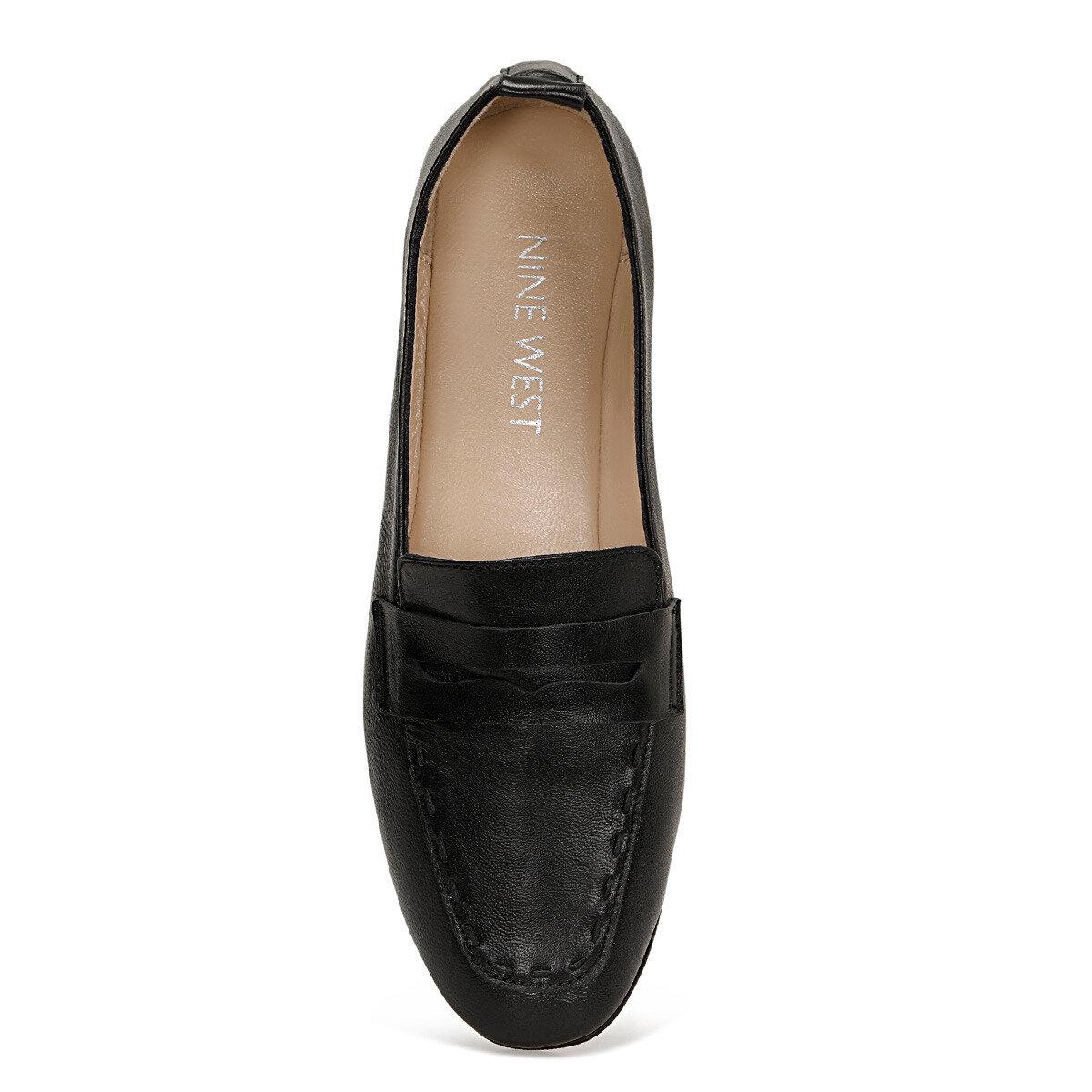 BAILEEN Siyah Kadın Loafer Ayakkabı