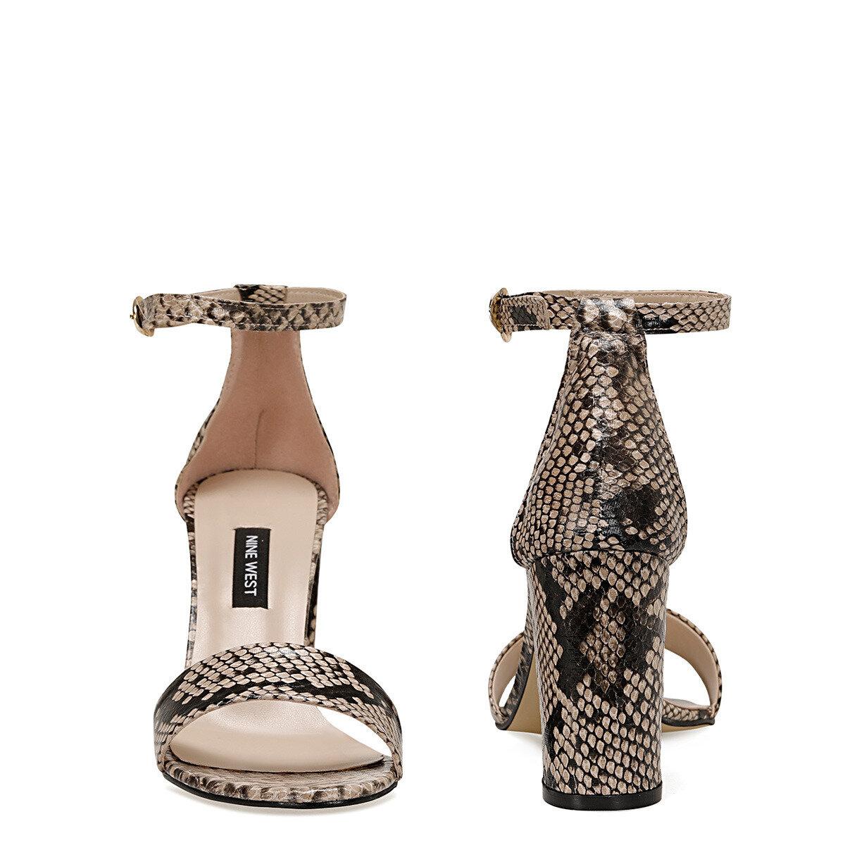 CALVI3 Bej Kadın Sandalet