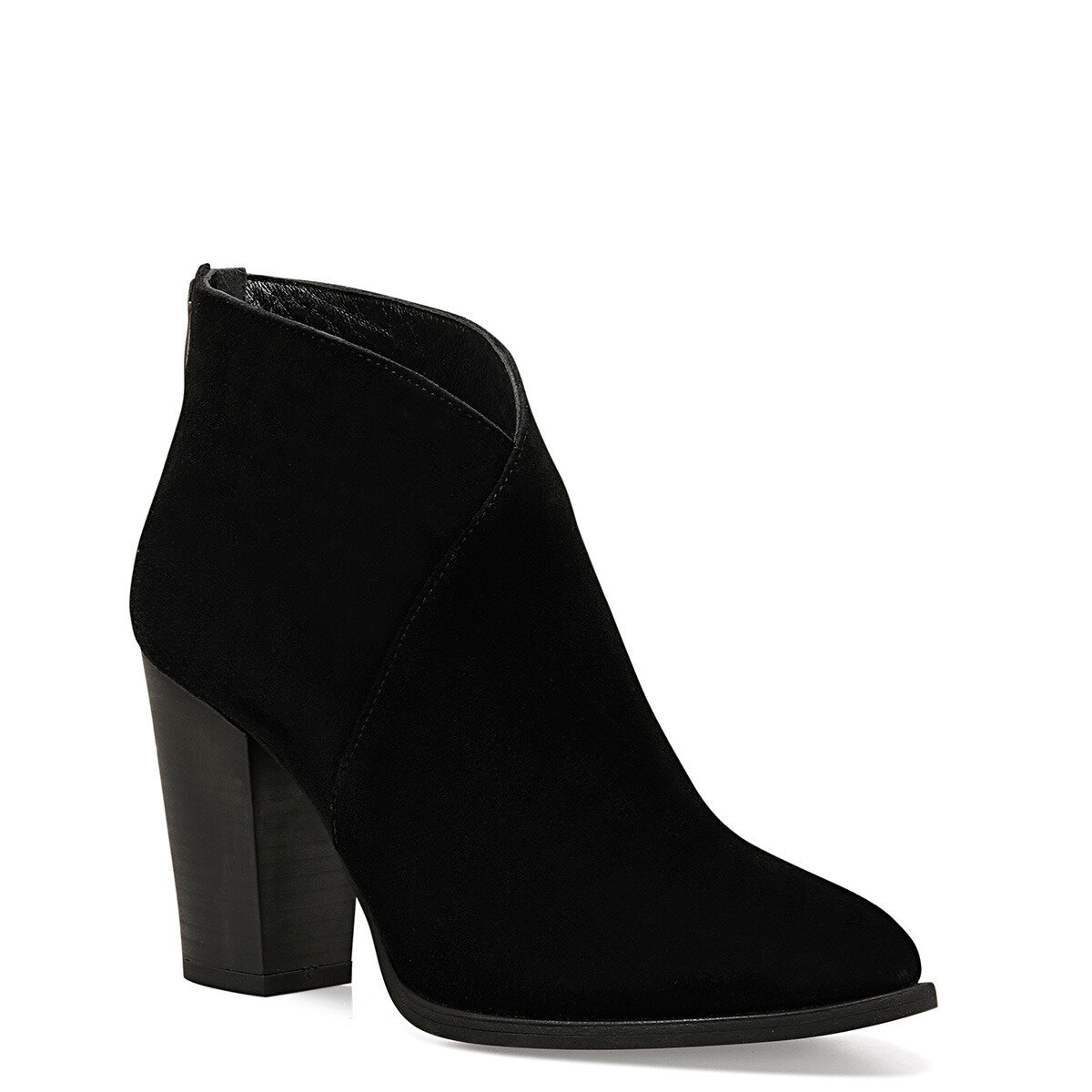 FELA Siyah Kadın Topuklu Bot