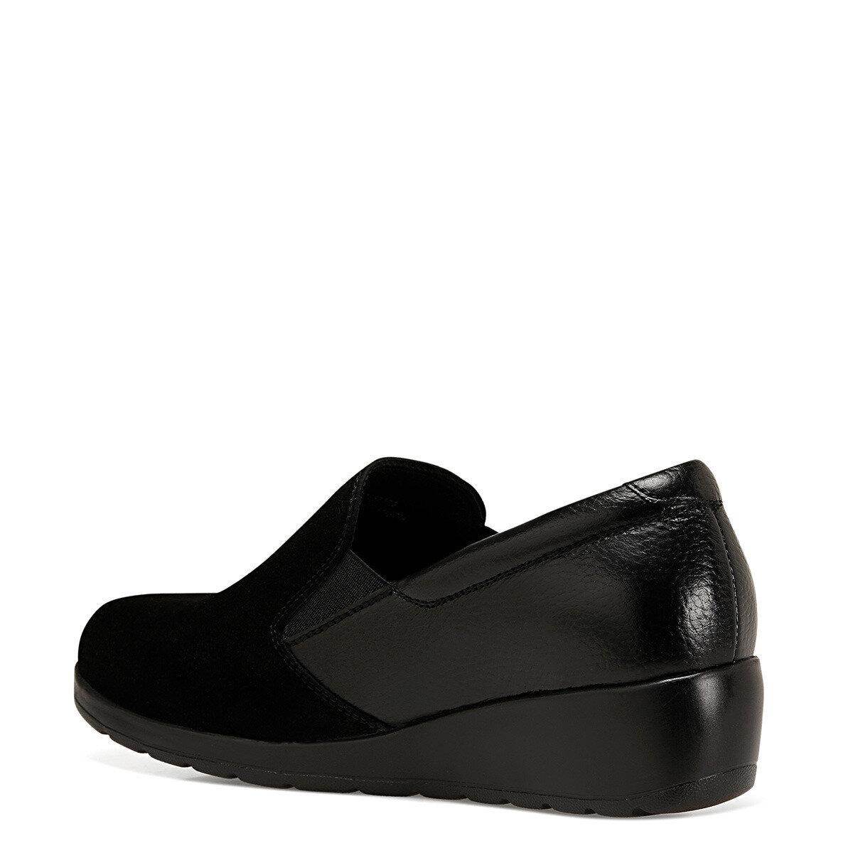 PACE Siyah Kadın Slip On Ayakkabı