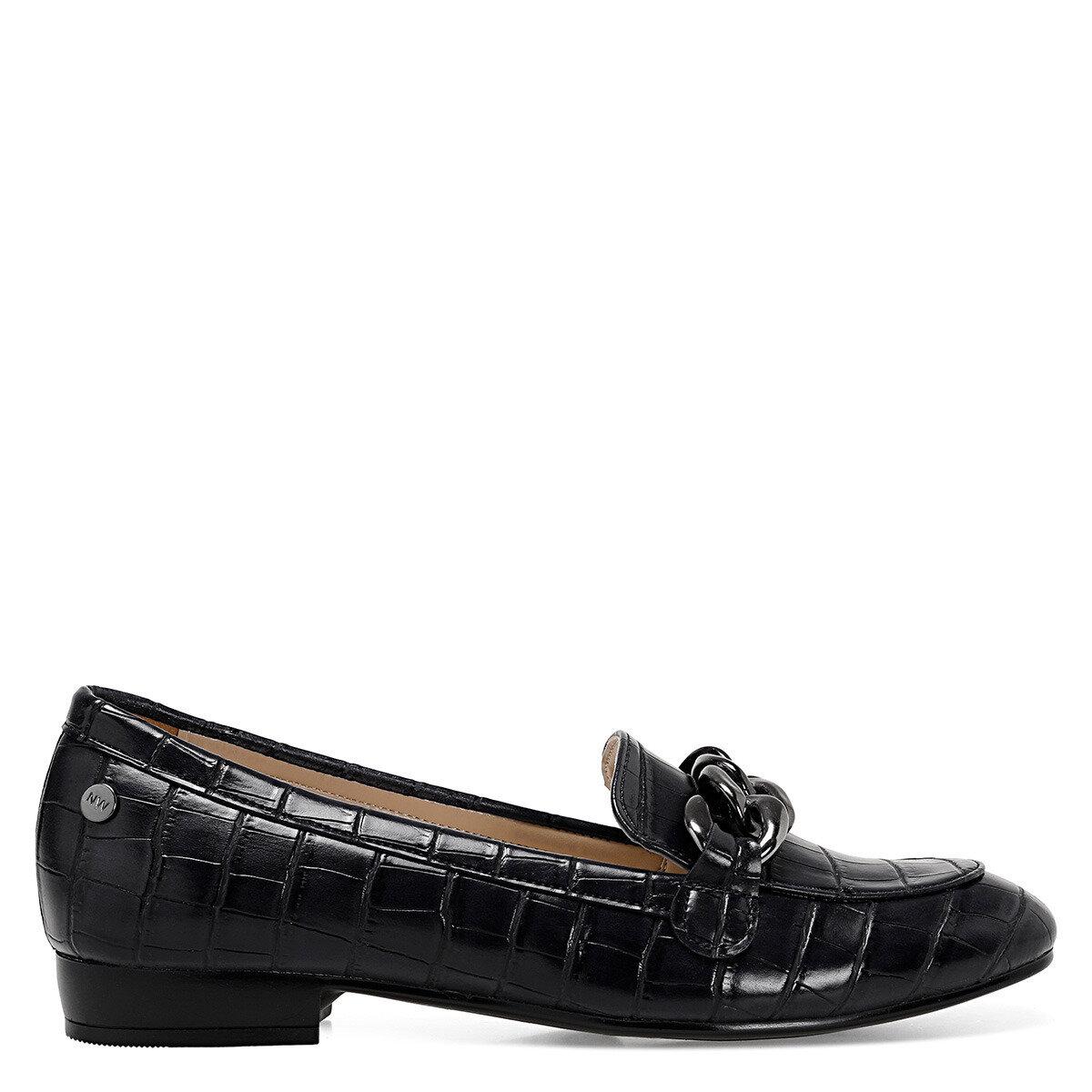 CROMA Siyah Kadın Loafer