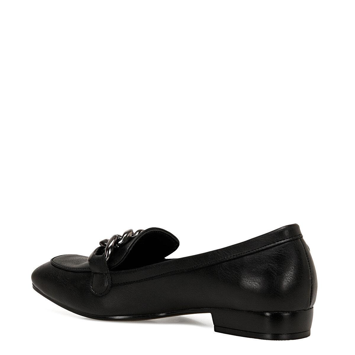CROMA2 Siyah Kadın Loafer Ayakkabı