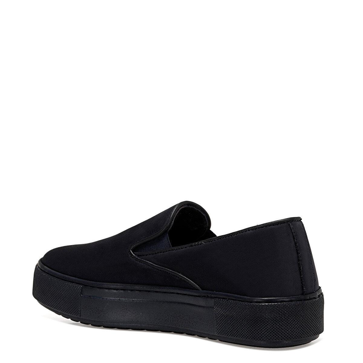 SADEMO Lacivert Kadın Slip On Ayakkabı